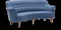 Samsas runda soffa carl malmsten
