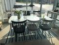 Grandby matbord med 6 st Alvena stolar