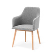 My stol ljusgrå