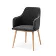 My stol mörkgrå