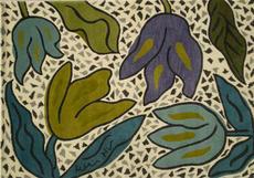 Tulipgarden matta